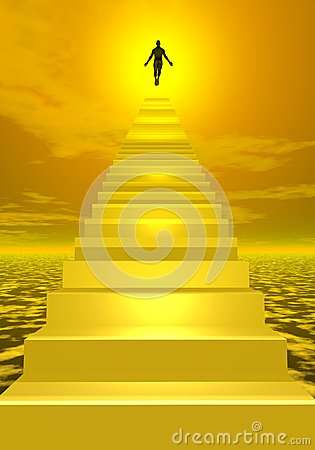 Free Ascension To Heaven - 3D Render Stock Photos - 30534833