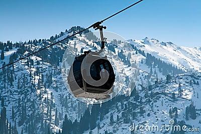 Ascensore della gondola cabina di funivia fotografia for Planimetrie della cabina di log