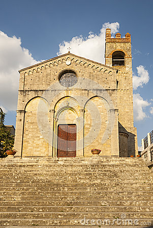 Asciano (Siena) - Ancient church