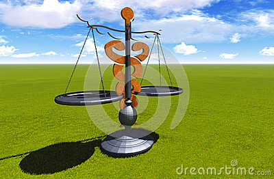 Asclepius & Justice scale
