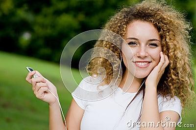 Ascoltando la musica all esterno