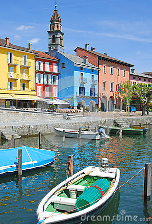 Ascona,湖Maggiore,瑞士