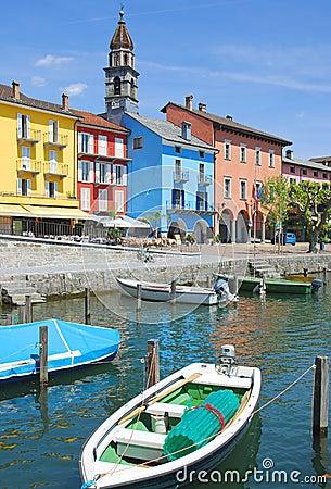 Ascona, Jeziorny Maggiore, Szwajcaria