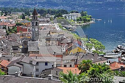 Ascona, Ticino, Switzerland. General view.
