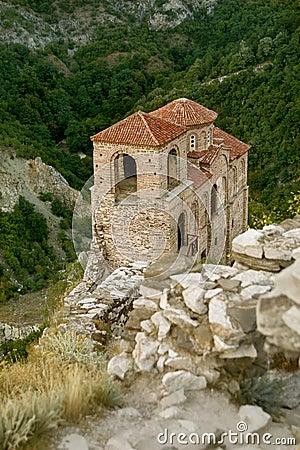 Asenova castle in Bulgaria