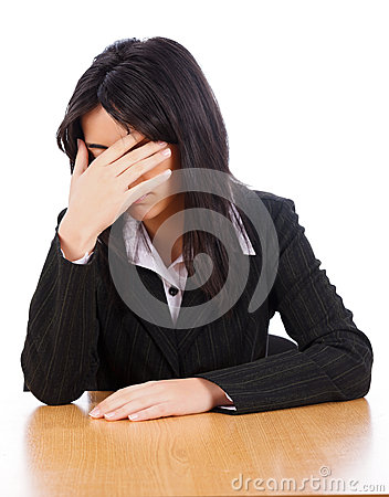 Free Ashamed Woman Stock Photos - 30200703