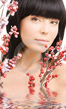 Free Ashberry Woman Royalty Free Stock Photos - 7968298