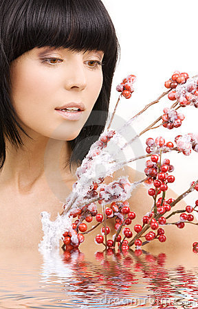 Free Ashberry Woman Royalty Free Stock Photos - 8289388