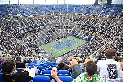 Ashe Stadium - US Open Tennis Editorial Photography