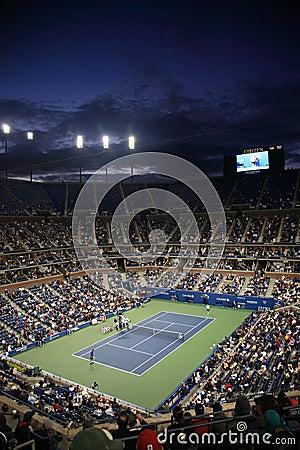 Ashe Stadium - US Open Tennis Editorial Stock Image