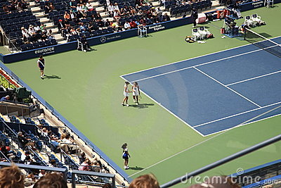Ashe Stadium - US Open Tennis Editorial Stock Image