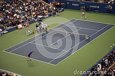 Ashe Stadium - US Open Tennis Editorial Image