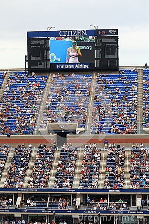 Ashe Stadium - US Open Tennis Editorial Photography