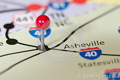Asheville north carolina pin