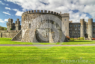 Ashford castle in Co. Mayo