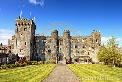 Ashford castle and gardens - Ireland.