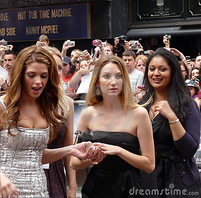 Ashley Greene at Twilight Eclipse Premiere Editorial Photography