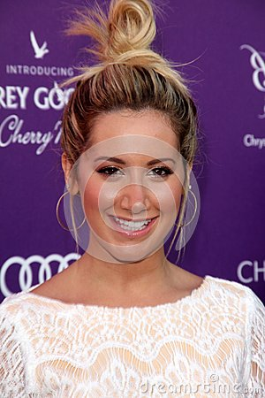 Ashley Tisdale at the 2012 Chrysalis Butterfly Ball, Private Location, Los Angeles, CA 06-09-12 Editorial Photo