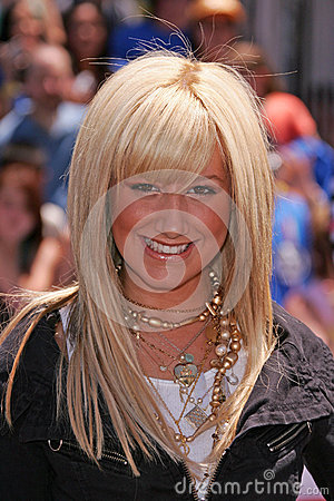 Ashley Tisdale Editorial Stock Image