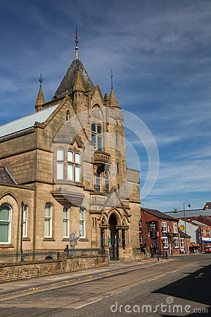 Free Ashton Old Central Library Royalty Free Stock Photography - 68279787
