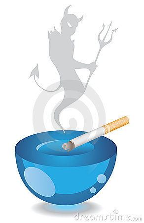 Free Ashtray And Cigarette Royalty Free Stock Photos - 4585898