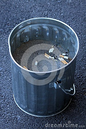 Ashtray Cigarrette Bucket