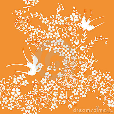 Asia Floral and Bird