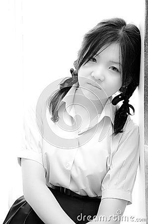Asia girl.