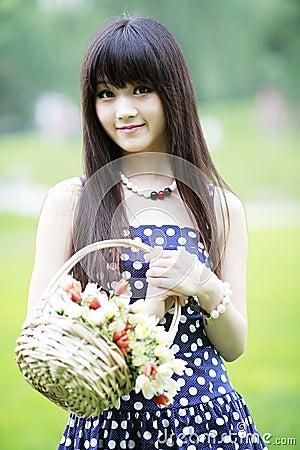 Free Asia Girl Next Door Stock Photography - 20468362