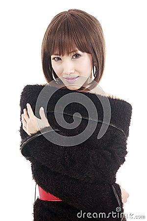 Asia girl portrait