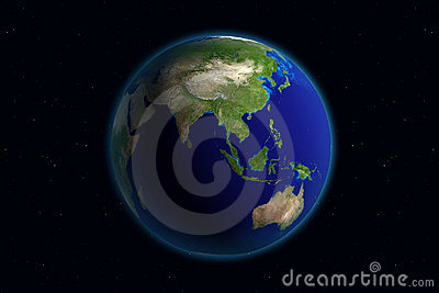 Asia jord
