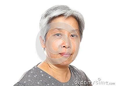 Asia mature woman