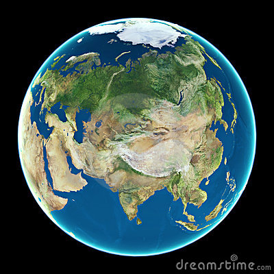 Free Asia On Planet Earth Stock Photography - 3035182