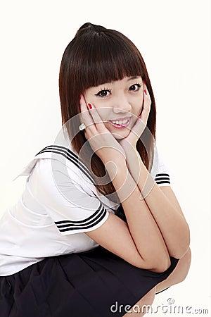 Asia schoolgirl