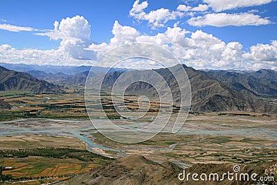 Asia,Tibet landscapes