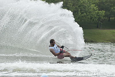 Asian 2011 Waterski Competition Editorial Stock Image