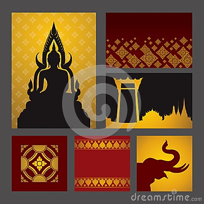 Free Asian Art Background. Royalty Free Stock Photos - 40753818