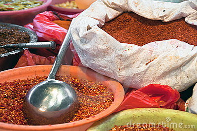 Asian bag of spices