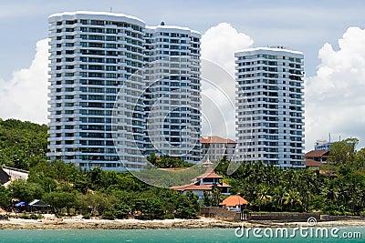 Asian beach apartments