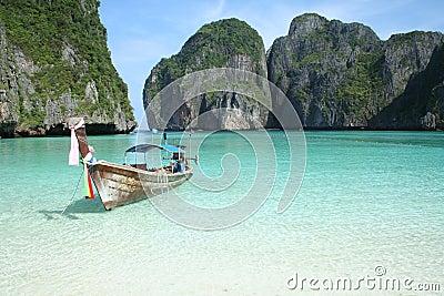 Asian beach paradise