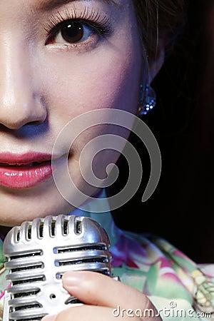 Free Asian Beauty Close-up Royalty Free Stock Image - 60989246