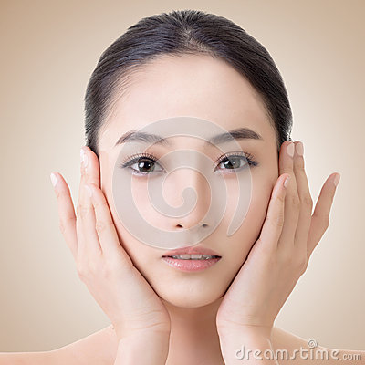 Free Asian Beauty Face Royalty Free Stock Photos - 49355058