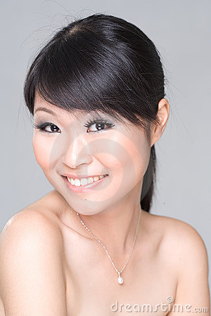 Free Asian Beauty Smile Stock Image - 3255961