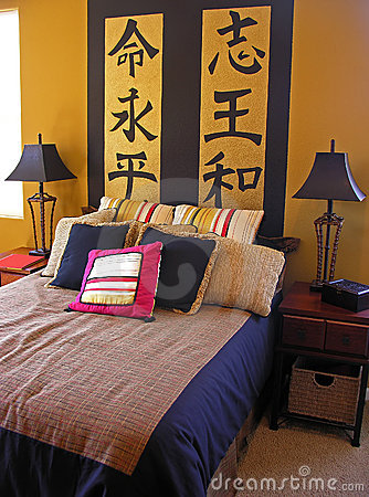 Free Asian Bedroom Stock Photos - 1219933