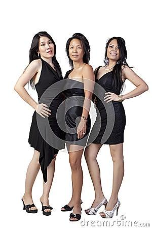 Asian in Black