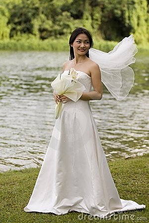 Free Asian Bride 17 Stock Image - 221971