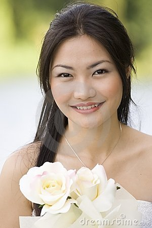 Free Asian Bride 5 Royalty Free Stock Photography - 220487