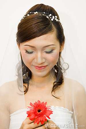 Free Asian Bride Royalty Free Stock Images - 8861369