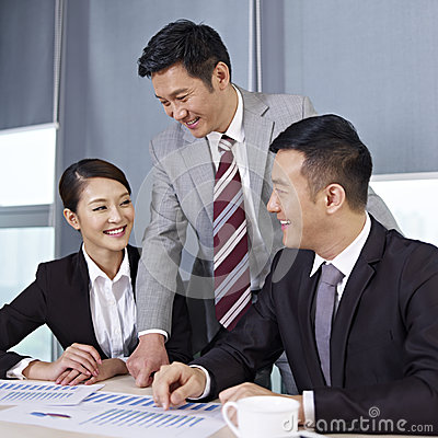 Free Asian Business People Stock Photography - 30741722