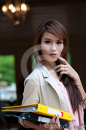 Free Asian Business Woman Stock Image - 24505631